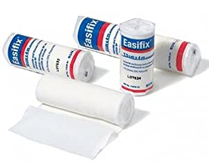 BSN Easifix K Conformable Knitted Retention Bandage, 7.5cm x 4m, Pack of 20