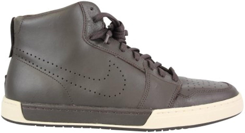 Nike Air Royal Mid High Sneaker Gr. EUR 41 UK 7 Leder braun Schuhe Stiefel Boots