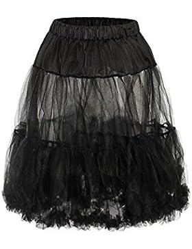 MarJo Damen Petticoat Mini 55er schwarz Judith 101640