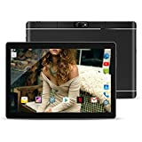 "10.1"" Inch Android Tablet PC,PADGENE® M8 Android7.0 Phablet Tablet Quad Core Pad with Dual Camera Built in 2 Normal Sim Card Slots Bluetooth GPS WIFI"