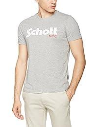 Schott NYC Tslogo, T-Shirt Homme