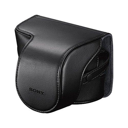 Etui Noir Sony LCSEJAB.SYH, compatible appareil photo A6000 / A5000 / Nex-5t +16-50