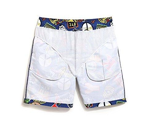 ... Lantra Besa CSM0029 Wasserabweisend Schnelltrocknend Herren Männer  Badehose Badeshorts Knielang Boardshorts Beach Shorts für Wassersport im ...