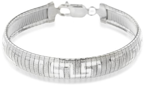 Tuscany Silver Armband Sterling Silber Stil Griechisch 19cm/7.5zoll