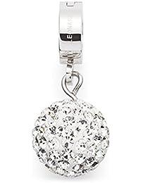 Leonardo Jewels Damen Anhänger Darlin's Edelstahl silber Mini-Clip