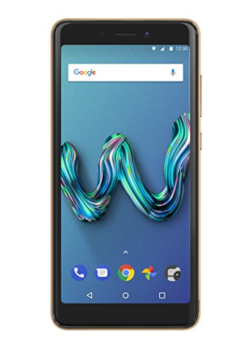 Wiko Tommy 3 Smartphone (13,8 cm (5,45 Zoll) Display, 16GB interner Speicher, Android Oreo Go Edition) gold & cherry red