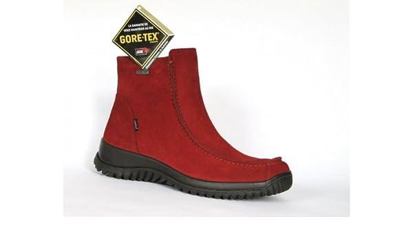 Legero Damen Stiefel GoreTex rot Größe 37: : Schuhe