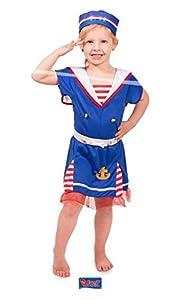 Folat-Sailors Camiseta niña, de 2Piezas, Color Azul