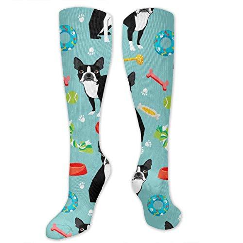 dfjdfjjgfhd Boston Terrier Toys Dog Compression Socken for Women and Men - Best Medical,for Running, Athletic, Varicose Veins, Travel. -