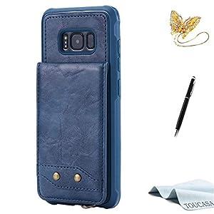 TOUCASA Galaxy S8 Handyhülle PU