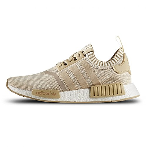 Adidas Originals NMD_R1 PK Primeknit Sneaker Herren Schuhe zake Limen Khaki/Off White