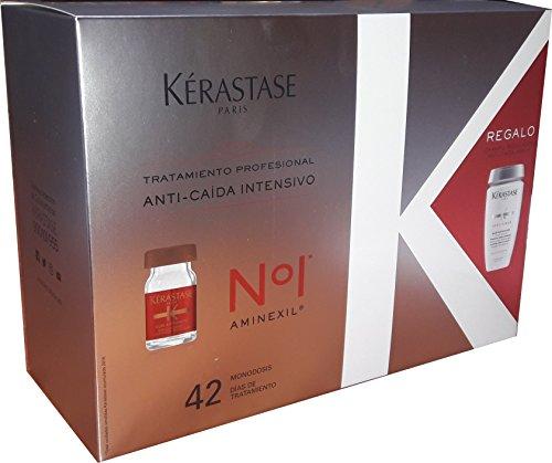 Pack traitement anti-caída Aminexil Traitement professionnel de Kerastase.