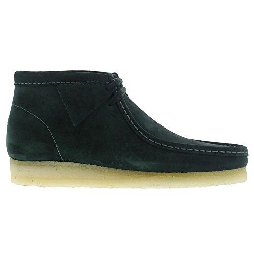 clarks-originals-mens-wallabee-green-suede-boots-46-eu