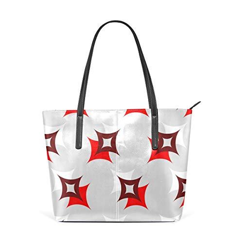 xcvgcxcbaoabo Mode Handtaschen Einkaufstasche Top Griff Umhängetaschen Stars Light one shoulder handbag leather Hand Bag -