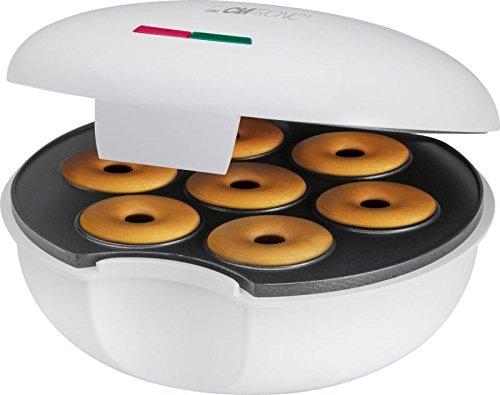 Donuts Bagel de Maker con Back Semáforo para 7Donuts/Bagel Gofrera Donuts de dispositivo (Sparsame 900W + antiadherente)