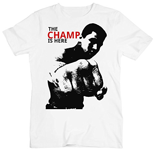 The Champ is Here Tribute Men's T-Shirt XX-Large