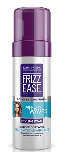 Frizz ease boucles couture mousse coiffante ondulation 150 ml