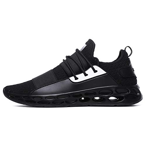 36-48 Shoes Men Sneakers Breathable Casual Shoes Krasovki Mocassin Basket Homme Comfortable Light Trainers Chaussures Hommes Black-3 12 5 Zoll Spike Heel