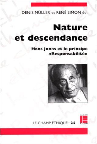 Nature et descendance : Hans Jonas et