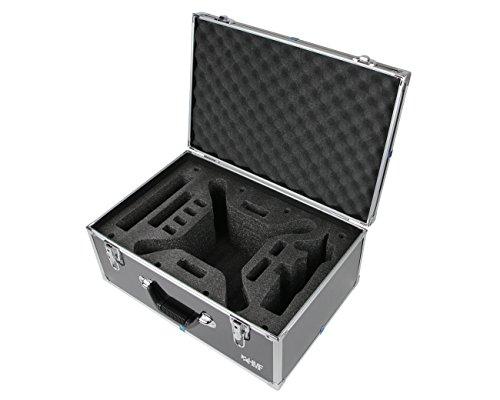 HMF 18501-02 Transportkoffer passend für X8C Syma Drohne, Koffer Alurahmen, 52 x 36 x 22 cm, schwarz - 2