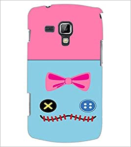 PrintDhaba Funny Image D-3732 Back Case Cover for SAMSUNG GALAXY S DUOS 2 S7582 (Multi-Coloured)
