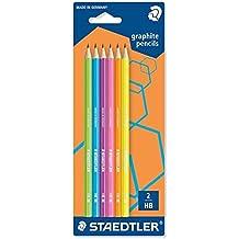 STAEDTLER 180F BK6 - Pack de 6 lápices