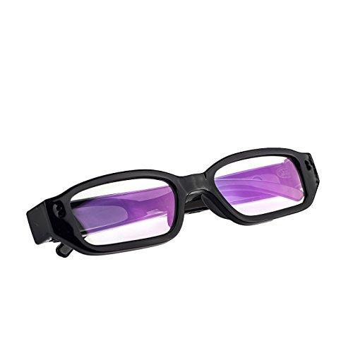 HD Kamera Brille K28, getarnte Überwachungskamera, Langzeitüberwachung, Versteckte Videoüberwachung, Spy Cam mit 5 MPix, von Kobert-Goods