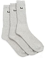 Pringle Mens 3 Pack Full Cushion Grey Sports Socks