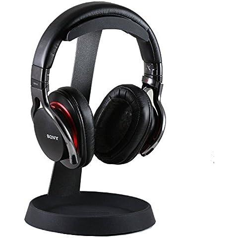 Navitech - acciaio su orecchio e su reti wireless orecchio / cuffie bluetooth del basamento del supporto per Bang & Olufsen H7