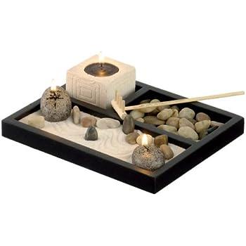 zen garten buddha mit gong auf platte. Black Bedroom Furniture Sets. Home Design Ideas