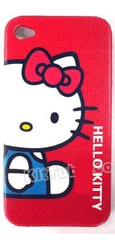 Cartoon retro pattern case bumper cover per Apple iPhone 4 4S con pellicola 6
