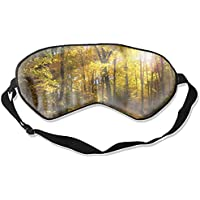 Fashion Forest Fall Tree Path Print Schlafmaske Super Smooth Silk Eyeshade preisvergleich bei billige-tabletten.eu