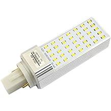 Ledbox LD1033011 - Bombilla G24, 8 W, color blanco frío