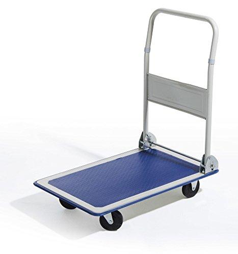 VERDELOOK Carrello richiudibile Tuttofare, Dimensioni 83x74x48 cm, Colore Blu