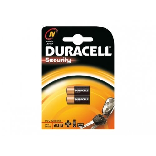 Duracell Security - Pila LR1 / 2 unidades