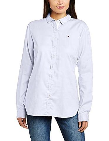 Tommy Hilfiger Women's Jenna Regular Fit Long Sleeve Shirt, Classic