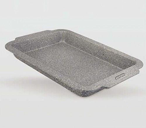 Life Style - Backblech Hoch Granit - Karbonstahl - Antihaftbeschichtung