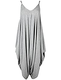 d41dac4f96 Silva And Sons New Womens Ladies Cami Strappy Baggy Lagenlook Harem  Playsuit Jumpsuit Dress Top