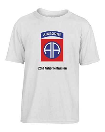 T-Shirtshock - T-shirt Kinder TM0358 82nd Airborne Division usa, Größe 9-11jahre (T-shirt Division Airborne 82nd)