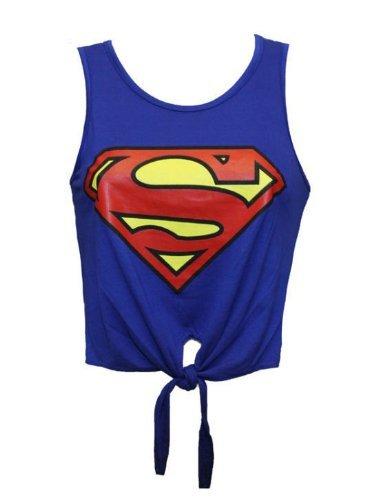 mymixtrendz-t-shirt-pour-femme-a-nouer-motif-logo-super-heros-s-m-36-38-