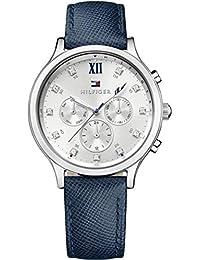 Tommy Hilfiger Damen-Armbanduhr Analog Quarz Leder 1781613