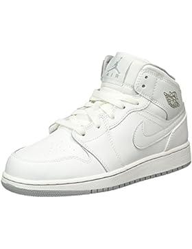 Nike Air Jordan 1 MID BG Zapatillas de deporte, Niños