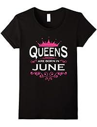 Queens Are Born Shirt - Camiseta - Unisex adulto