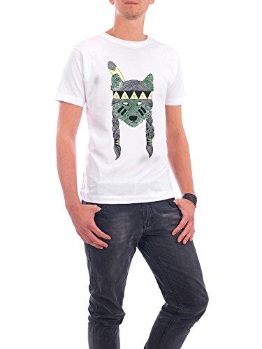 """Design T-Shirt Männer Continental Cotton """"Green Skin"""" - stylisches Shirt Tiere von Tobe Fonseca Weiß"""