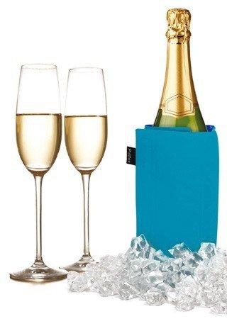 Pulltex Kühlmanschette Wein und Sekt, blau/navy