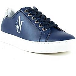 Sport scarpe per le donne, colore Blu , marca ARMANI JEANS, modello Sport Scarpe Per Le Donne ARMANI JEANS H707N GEL KAYANO TRAINER EVO Blu