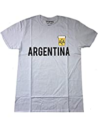 Argentina - Retro Fútbol (Fútbol) - Oficial Camiseta para Hombre