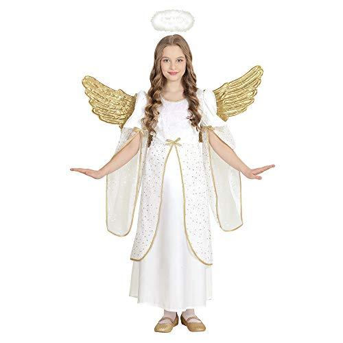 WIDMANN 58998 Kinderkostüm Engel, Mädchen, Weiß, 158 cm