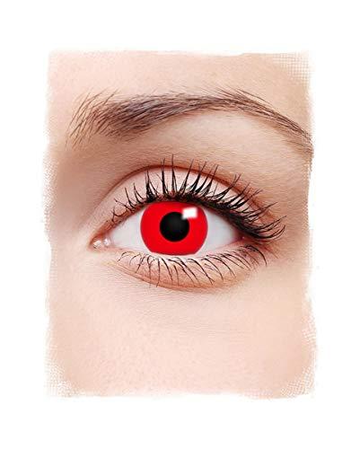 Horror-shop diavoli rossi lenti a contatto 1 giorno