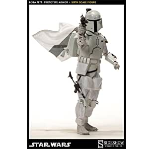 Boba Fett Prototype Armor Star Wars Sixth Scale Sideshow Collectibles Figure